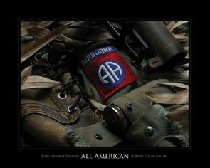 82nd Airborne Division - All American - Giclee Print