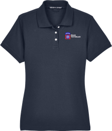 82nd Airborne Division Iraq Veteran Women's Devon & Jones Polo