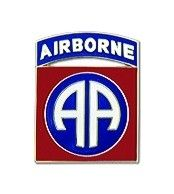82nd Airborne Lapel Pin (5/8 inch)