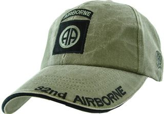 82nd Airborne Olive Drab Green Cap