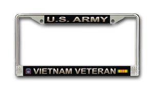 82nd Airborne Vietnam Veteran License Plate Frame