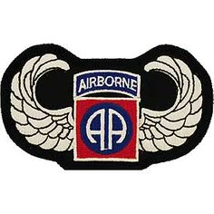 82nd Airborne with Wings 4