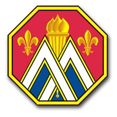 89th Regional Support Command Unit Crest Vinyl Transfer Decal