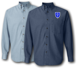 97th Arcom Division Denim Shirt