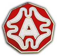 9TH ARMY LAPEL PIN