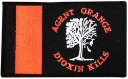 Agent Orange Dioxin Kills Small Patch (4 inch)