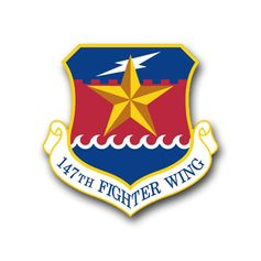 Air Force 147th Fighter Wing Vinyl Transfer Decal