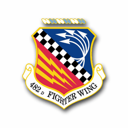 Air Force 482nd Fighter Wing Vinyl Transfer Decal