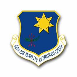 Air Force 621st Air Mobility Operations Group Vinyl Transfer Decal