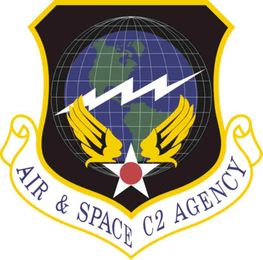 Air Force Air And Space C2 Agency Vinyl Transfer Decal