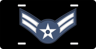 Air Force Airman First Class License Plate