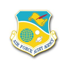 Air Force Audit Agency Vinyl Transfer Decal