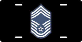 Air Force Chief Master Sergeant License Plate