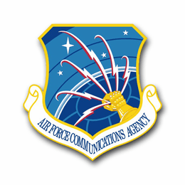 Air Force Communications Agency Vinyl Transfer Decal