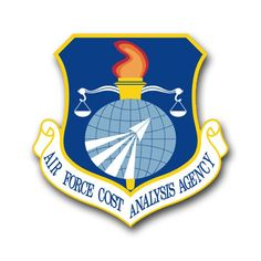 Air Force Cost Analysis Agency Vinyl Transfer Decal