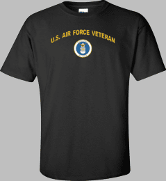 Air Force Emblem U.S. Air Force Veteran Shirt