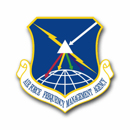 Air Force Frequency Management Agency Vinyl Transfer Decal