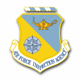 Air Force Inspection Agency Vinyl Transfer Decal