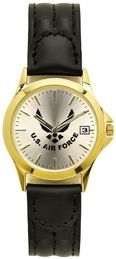 Air Force Ladies Watch with Deluxe Leather Strap