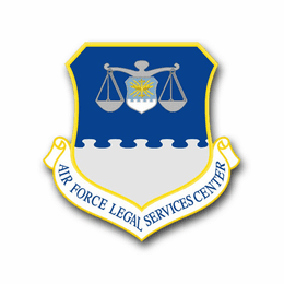 Air Force Legal Services Center Vinyl Transfer Decal