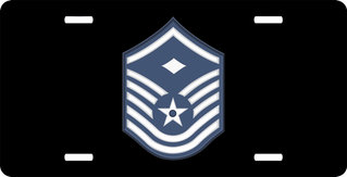 Air Force Master Sergeant License Plate