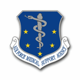 Air Force Medical Support Agency  Vinyl Transfer Decal