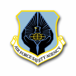 Air Force Safety Agency Vinyl Transfer Decal
