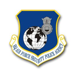 Air Force Security Police Agency Vinyl Transfer Decal