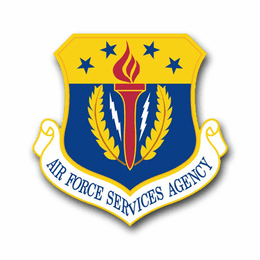 Air Force Services Agency Vinyl Transfer Decal