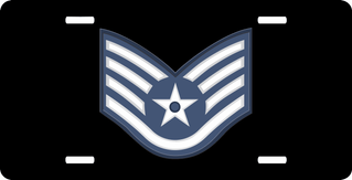 Air Force Staff Sergeant License Plate