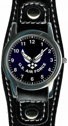 Air Force Watch with Leather Strap