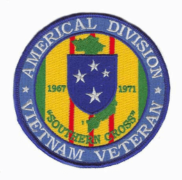 "Americal Division 4"" Vietnam Veteran Patch"