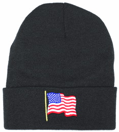 American Flag Watch Cap