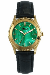 Aquaforce Elegant Ladies' Watch-Green with Black Band