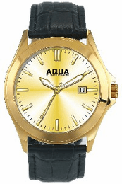 Aquaforce Elegant Men's Watch - Gold