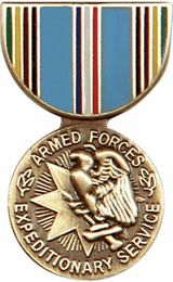 Armed Forces Expeditionary Service Hat Pin