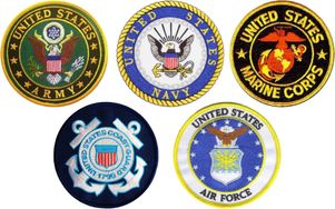 Armed Services Combo Pack of 4