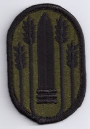 "Army 147th Field Artillery Brigade 2 3/4"" Subdued Patch"