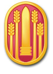 Army 147th Field Artillery Brigade Patch Decal