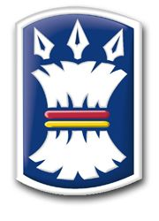 Army 157th Infantry Brigade Patch Vinyl Transfer Decal