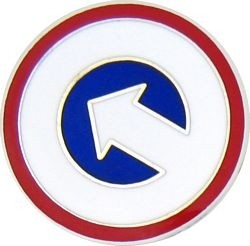 Army 1st Logistic Command Lapel Pin