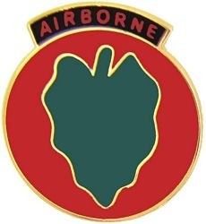 Army 24th Infantry Airborne 1