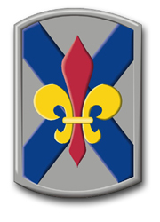 Army 256th Infantry Brigade Louisiana Vinyl Transfer Decal