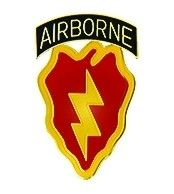 Army 25th Airborne Lapel Pin