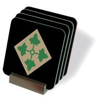 Army 4th Infantry Coasters - Set of 4