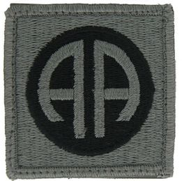 Army 82nd Airborne ACU Velcro Patch