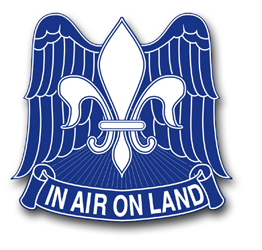 Army 82nd Airborne Division Unit Crest Vinyl Transfer Decal