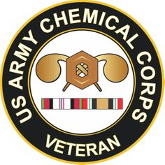 Army Chemical Corps Afghanistan and Iraq Decal