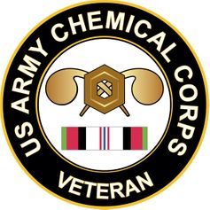 Army Chemical Corps Afghanistan Decal
