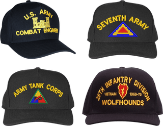 U.S. Army Custom Made Ball Caps